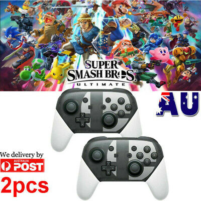 Wireless Bluetooth Pro Controller Gamepad For Nintendo Switch Super Smash Bro AU