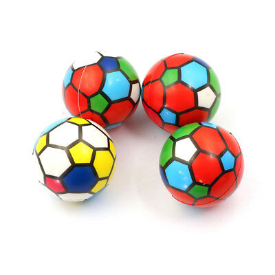1PC Stress Relief Vent Ball Colorful Mini Football Squeeze Foam Ball Kids ToySC