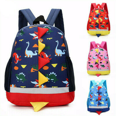 Cute Dinosaur Backpack School Bag Rucksack Gifts For Childrens Kids Boys Girls