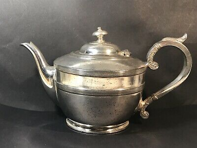 Vintage SILVER PLATED TEAPOT James Dixon & Sons EPBM for MUTUAL STORE MELBOURNE