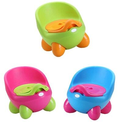 Kids Potty Training Toilet Seat Portable Toddler Chair Child Girl Boy Trainer