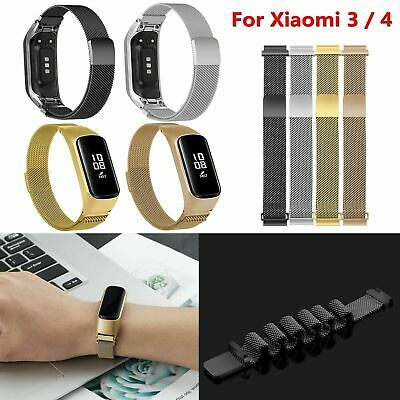 Milanese Magnetic Loop Strap Wristbands Stainless Steel for Xiaomi 3 / 4 mi4
