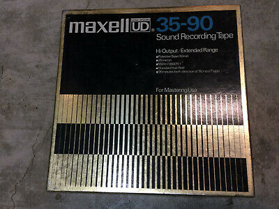 Maxell UD 35-90 tape used