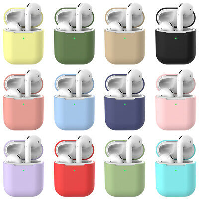 Silicone Case Cover Box For Apple Airpods 2nd Protective Earphone Charging cases