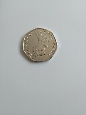 The tale of peter rabbit 50p 2017