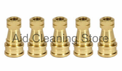 GU00102 Female 1/4 Quick Connect With VITON Seals, Carpet Cleaning Machines x 5