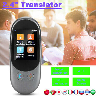 Portable Smart Voice Translator Two Way Real Time Multi Languages Translation