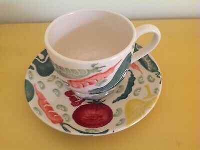 Emma Bridgewater General Trading Company Vegetables Cup & Saucer