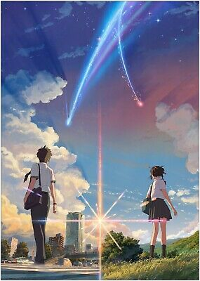 Your Name Anime Classic Movie Large Poster Art Print Maxi A1 A2 A3 A4