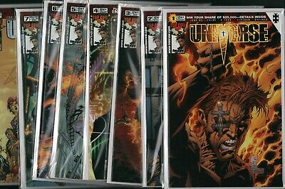 UNIVERSE #1 #2 #3 #4 #5 #6 #7 # 8 Image / Jenkins / Ching D-Tron (NM) ref:A1.314