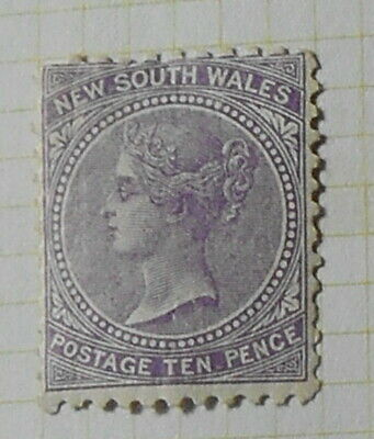 New South Wales - 1867 - SG206 - 10d MM