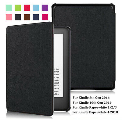 Smart Case Cover PU Leather For Amazon Kindle 8/10th Gen Paperwhite 1/2/3/4