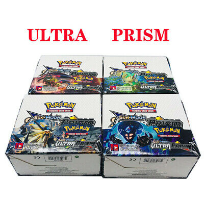 "Hot 324pcs Pokemon Cards Sun & Moon ""ULTRA PRISM"" Booster Box NEW ARRIVAL Gift"