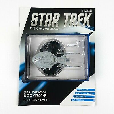 Star Trek Starship Collection USS ENTERPRISE NCC 1701 F Model Bonus Eaglemoss