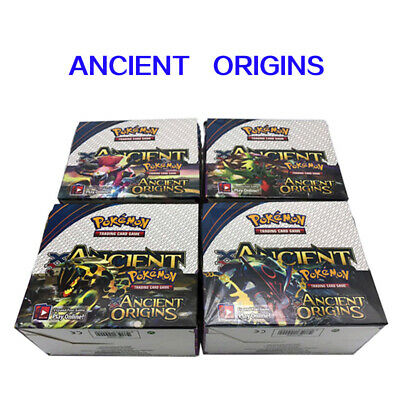 Hot Pokemon TCG XY Ancient Origins + Sun & Moon Lost Thunder Booster Box Bundle