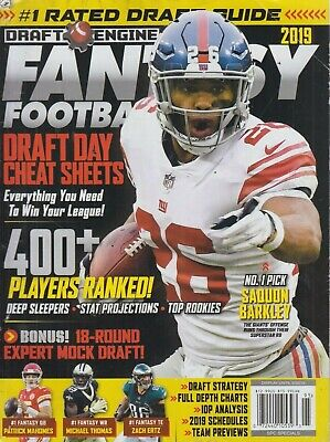 Fantasy Football 2019 Draft Guide 2019 Draft Engine Fantasy Football