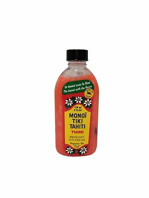 Monoi Tiare Tahiti Oil - 4 fl oz (120 ml) - Rouge - Red