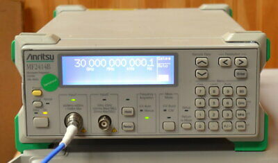 Anritsu MF2414B Microwave Frequency Counter 10hz-40GHz opt 03 Hi Stability TB