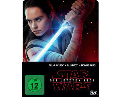 Star Wars: Die letzten Jedi (2D & 3D Steelbook Edition) Limited [3D Blu-ray (2D)