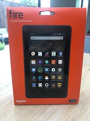 Amazon Kindle Fire 7 8GB, Wi-Fi, 7in - Black BRAND NEW SEALED + FREE CASE