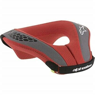 Alpinestars Boy's Sequence Youth Neck Roll, Black Red, Small/medium - Roll Red
