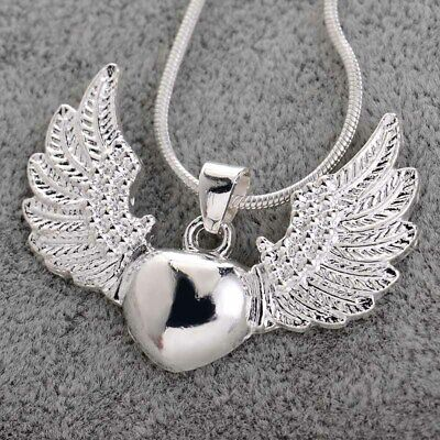 New Fashion Angel Wings&Heart Pendant Arwen's Evenstar Necklace Jewerly