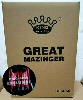 King Arts Dfs066 Great Mazinger Exclusive Version Wing Diecast Action Figure