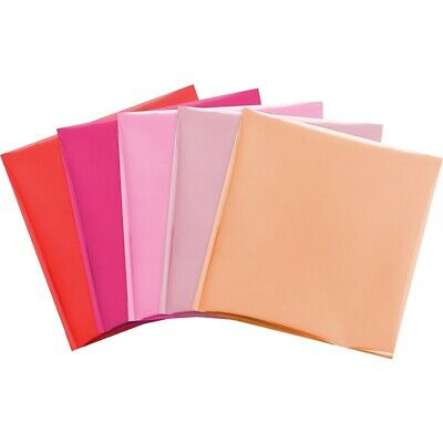 "We R Memory Keepers Foil Quill 12""x12"" Foil Sheets 15/pkg-flamingo-3 Each Of 5"