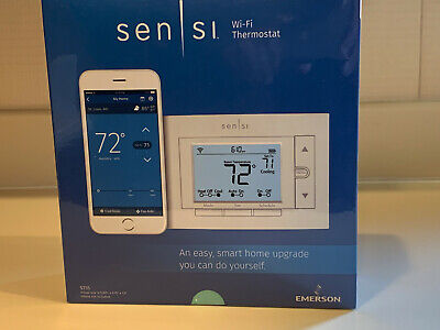 Emerson ST55 Sensi Programmable Smart Wi-Fi Thermostat White NEW IN UNOPENED BOX