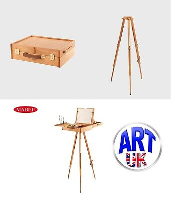Mabef Professional Artists Beech Wood Pochade Box Easel or Tripod- M/105 M/A30