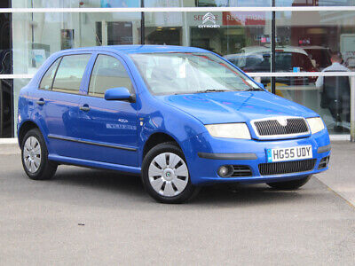 2005 55 SKODA FABIA 1.2 12v AMBIENTE 5dr [AC]- LOCAL CAR - FULL SERVICE HISTORY!