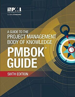 PMBOK Guide 6th Edition English Edition [High Quality]