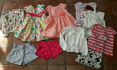 Girls summer clothes bundle age 18-24 months age 2 3 years Next Mothercare dress