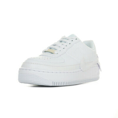 sélection premium 7e040 e4c75 CHAUSSURES BASKETS NIKE femme Wn's Air Force 1 Jester XX taille Blanc  Blanche