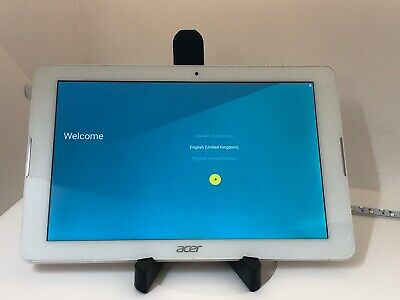 B234 Acer Iconia One 10.1 inch 16GB B3-A20 - White - Excellent Tablet