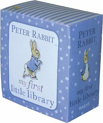 Rainbow Designs PETER RABBIT MY FIRST LIBRARY Baby/Toddler Early Reading Book BN