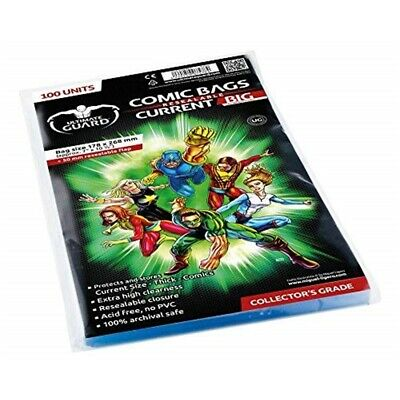 Comic Bags Resealable Thick Current Size (100)
