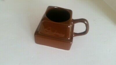 Funky Cadburys Chocolate Cup In Shape Of Chunk Of Chocolate