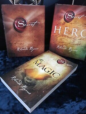 The Secret The Hero & the Magic  by Rhonda Byrne life changing books