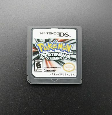 Pokemon Platinum Version Game Card For Nintendo NDS 3DS DSI NDSL Hot