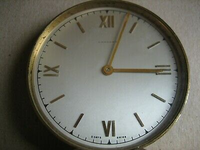 CONCORD - SWISS Antique Mechanical 8 DAY Table Clock