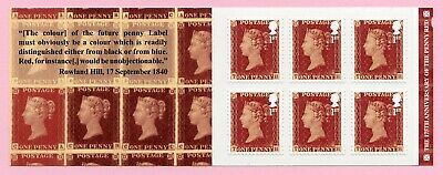 GB 2016 Retail stamp book 6x 1st Penny Red 175th Anniversary