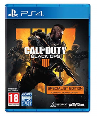 PS4-Call of Duty: Black Ops 4 - Specialist Edition /PS4 (UK IMPORT) GAME NEW