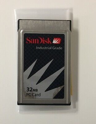 SANDISK 32MB or 48MB PCMCIA PC CARD SDP3B-32-584// SDP3B-48-584 TESTED