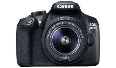 Canon EOS 1300D DSLR Camera with 18-55mm Lens with (Free Shoulder Bag)