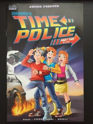 Jughead's Time Police #2 Back To The Future variant NM HTF