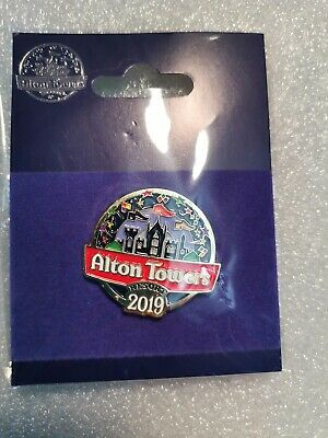 Official Alton Towers Pin Badge - ALTON TOWERS RESORT (2019) - Merlin BRAND NEW
