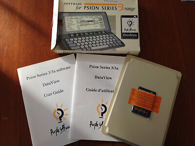 Software for Psion Series 3 Range - (Act, Dataview) New / Unused