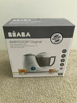 BEABA Babycook Original 4 in 1 Steam Cooker and Blender, 3.5 cups, Dishwasher Sa