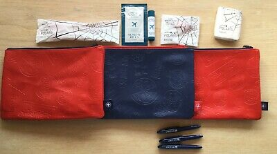 3!!! UNITED AIRLINES Spider Man Far Home First CLASS Polaris AMENITY KITS, BAGS